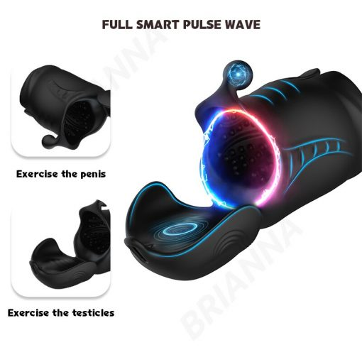 Penis stimulator exercise modes