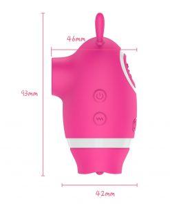 Hot Vagina Sucking Vibrator size
