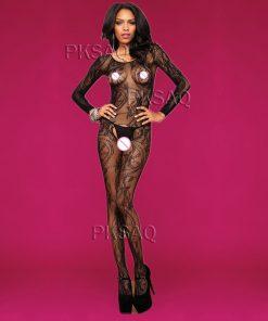 Lace bodysuit for woman