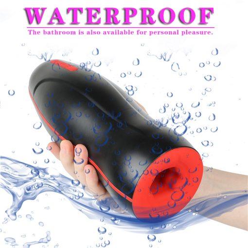 Automatic heating masturbators is waterproof