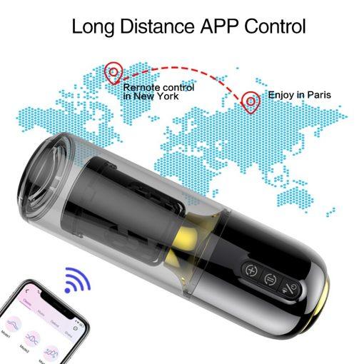 Long distance app control