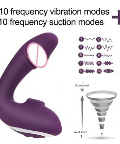 Clit sucking vibrator showcase