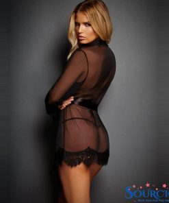 sexy lingerie dress black