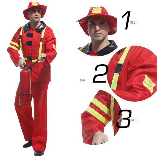mens firefighter costume